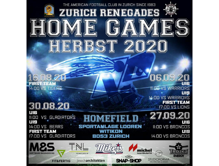 Homegames Season 2020